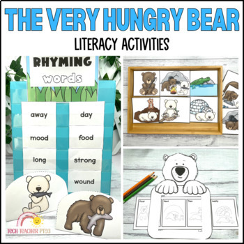 The Very Hungry Bear by Nick Bland Story Retell Pack