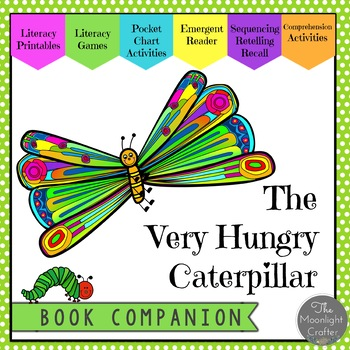 The Very Hungry Caterpillar Materials for Kinder and First