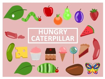 The Very Hungry Caterpillar Clip Art