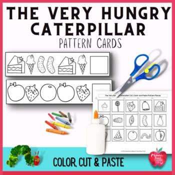 The Very Hungry Caterpillar Color, Cut & Paste Pattern Car