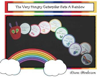 The Very Hungry Caterpillar Eats A Rainbow