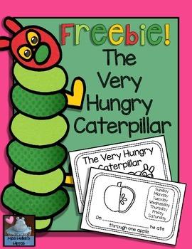 The Very Hungry Caterpillar {FREEBIE}
