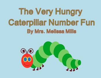 The Very Hungry Caterpillar Number Fun  for First Grade (C