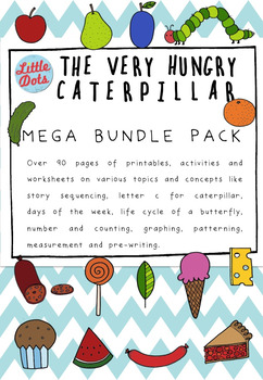 The Very Hungry Caterpillar Theme Math and Science Mega Bu