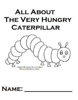 "The Very Hungry Caterpillar Vocabulary Workbook &""WH"" ques"