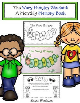 The Very Hungry Student Monthly Memory Book