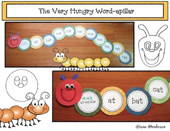 The Very Hungry Word-apillar Craftivity