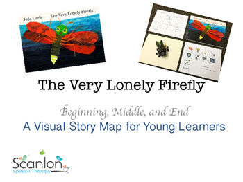 The Very Lonely Firefly: Story Map for Sequencing and Stor