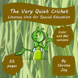 The Very Quiet Cricket Literacy Unit for Special Education