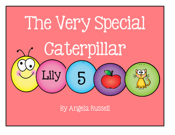 The Very Special Caterpillar ~ All About Me