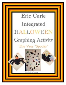 Halloween ELA and Art Activity:  The Very Spooky Spider Glyph