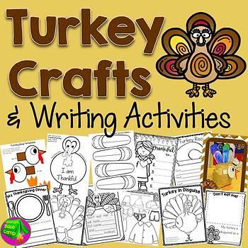 Turkey Craft and Unit {The Very Stuffed Turkey}