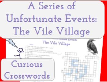 The Vile Village- Worksheet (Book 7 Series of Unfortunate Events)