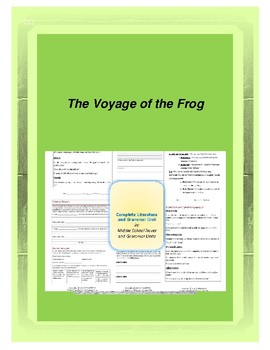 The Voyage of the Frog Novel Unit
