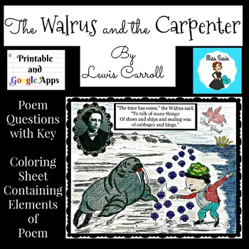 Poetry, Lewis Carroll, The Walrus and the Carpenter Questi