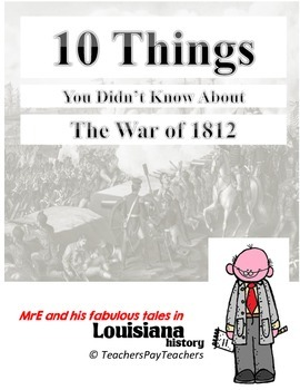 US HISTORY - The War of 1812 Info