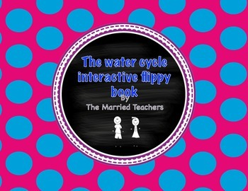 The Water Cycle Interactive Flippy Book