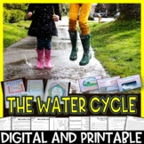 The Water Cycle Pack Interactive Notebook, Editable PowerP