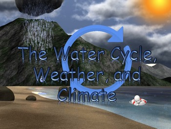 The Water Cycle, Weather, and Climate PowerPoint Readers'