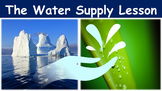 The Water Supply Lesson with Power Point, Worksheet, and R