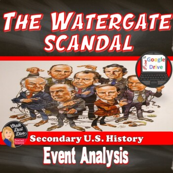 The Watergate Scandal Political Cartoon Analysis Activity