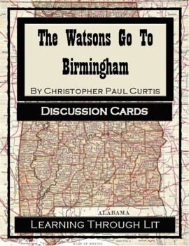 Christopher Paul Curtis THE WATSONS GO TO BIRMINGHAM- Disc
