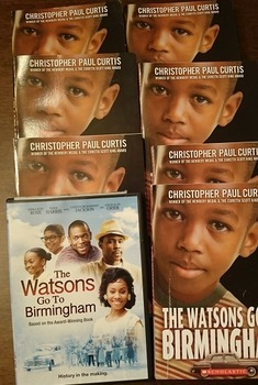 The Watsons Go To Birmingham: Lot of 7 books & DVD story d