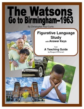 Watsons Go to Birmingham 1963 Figurative Language Study