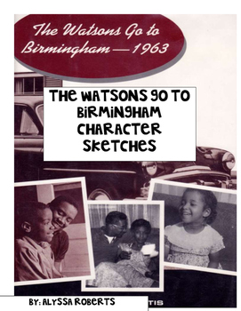 The Watsons Go to Birmingham Character Sketches