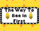 The Way To Bee Class Rules