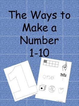 The Ways to Make a Number 0-10