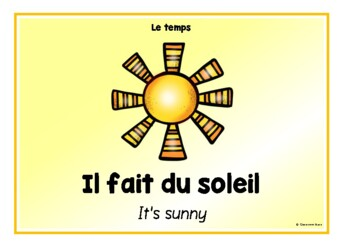 The Weather in French