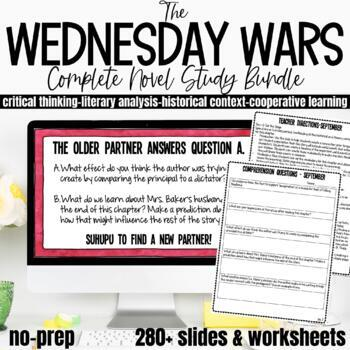 The Wednesday Wars Complete Novel Study