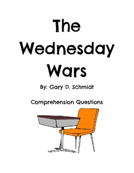The Wednesday Wars Comprehension Questions