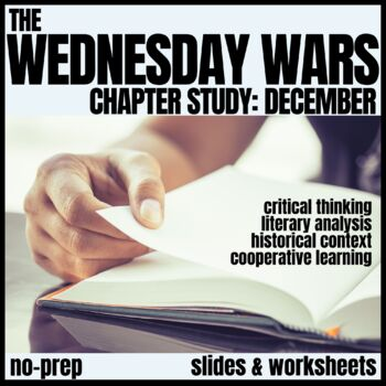 The Wednesday Wars-December Novel Study