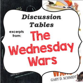 The Wednesday Wars - Excerpts