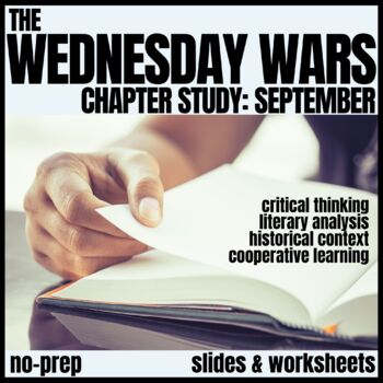 The Wednesday Wars-September Novel Study