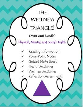 Health: The Wellness Triangle (Physical, Social, Mental)