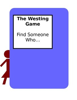 The Westing Game- Find Someone Who Review