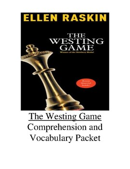 The Westing Game Guided Reading Unit Level V