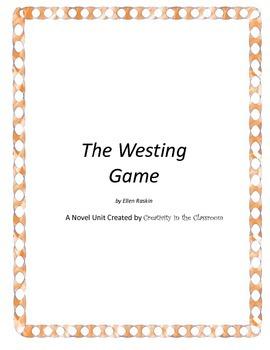 The Westing Game Novel Unit Plus Grammar