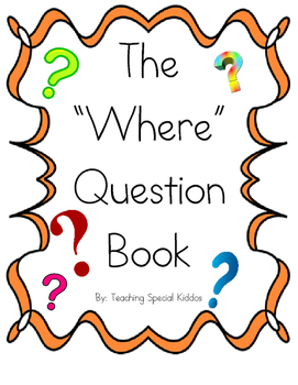 The Where Question Book adapted book