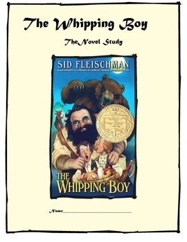 The Whipping Boy An Engaging Novel Study