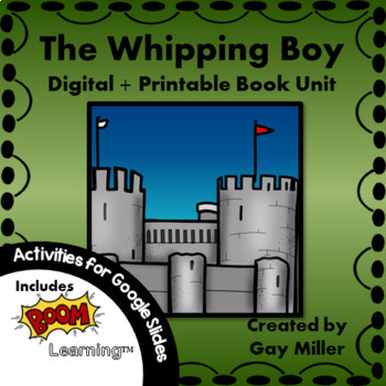 The Whipping Boy Book Unit