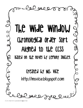 The Wide Window Chronological Order Sort