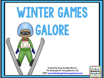 The Winter Games!  An Olympic Size Math And Literacy Cente