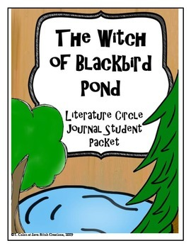 The Witch of Blackbird Pond Literature Circle Journal Stud