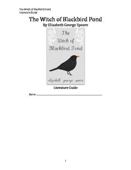 The Witch of Blackbird Pond Literature Guide
