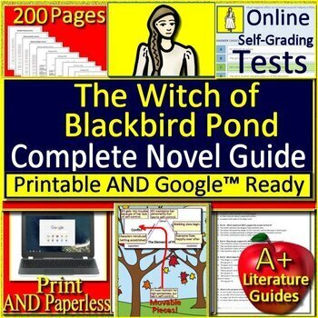 The Witch of Blackbird Pond Novel Study Unit