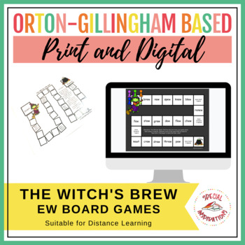 The Witch's Brew! (a long u (ew) board game) Orton-Gilling
